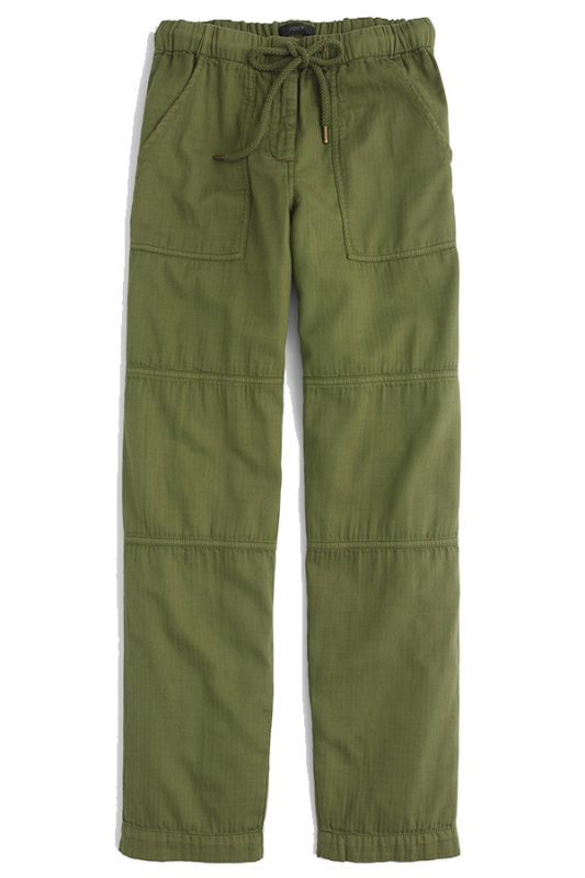 Click to buy J Crew Pull-On Cargo Pant Online