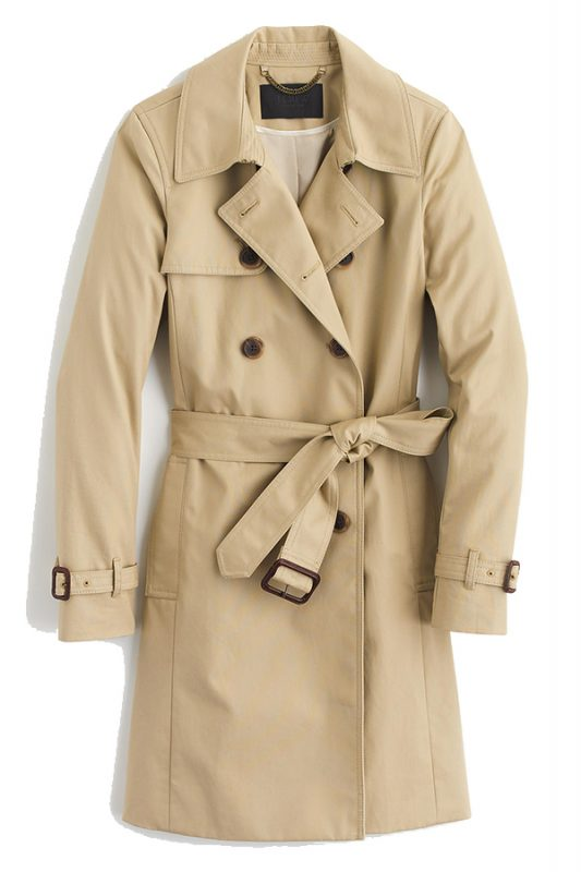 Click to buy J Crew Icon Trench online
