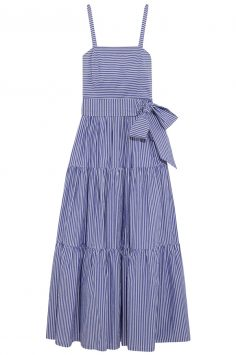 Click to buy J Crew striped maxi dress