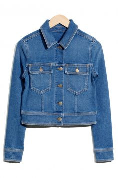 Click to buy Other Stories Stretch Denim Jacket online