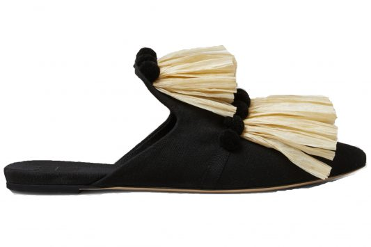 Click to buy Sanayi 313 Raffia Slippers Online