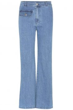 Click to buy See by Chloé Flared jeans online