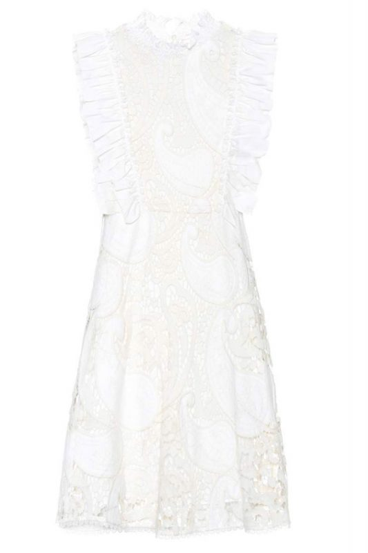 Click to buy See by Chloe Lace Mini Dress Online
