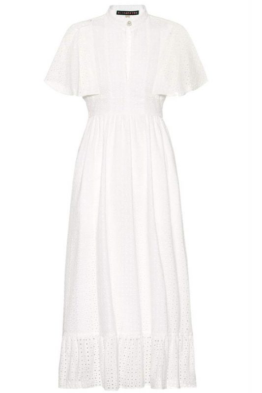 Click to buy Alexa Chung cotton dress online