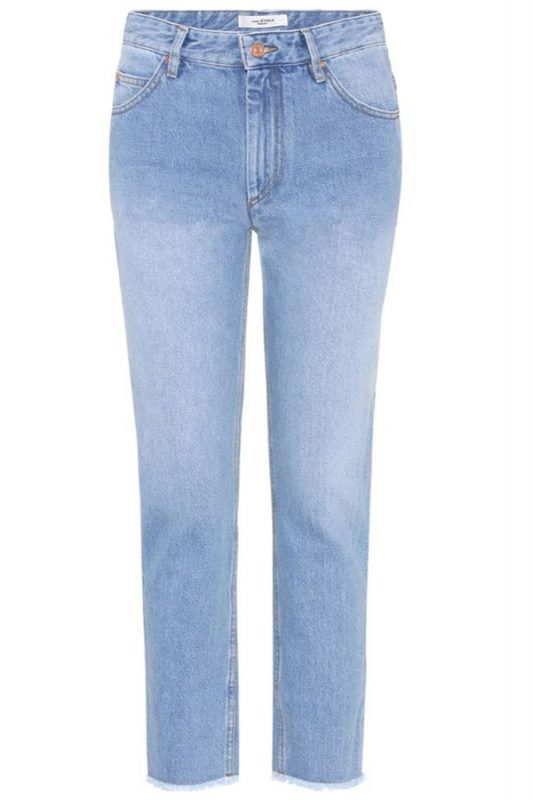 Click to buy Clovera frayed hems jeans online