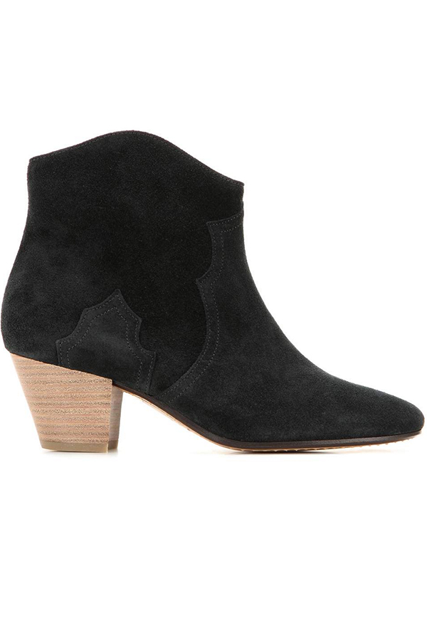 Click to buy Dicker suede ankle boots online