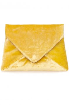 Click to buy Dries Van Noten Velvet Clutch online
