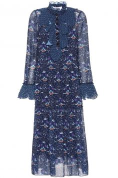 Click to buy Floral-printed bohemian dress online