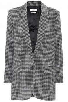 Click to buy Ice wool-blend jacket online