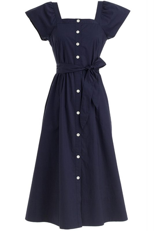 Click to buy J Crew Cotton Shirt Dress online