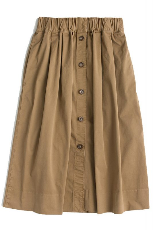 Click to buy J. Crew khaki skirt