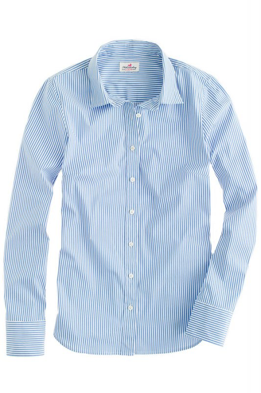 Click to buy J. Crew striped shirt