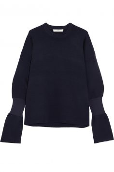 Click to buy Tibi Merino Wool Sweater online