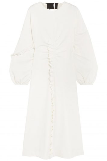 Click to buy Tibi white dress