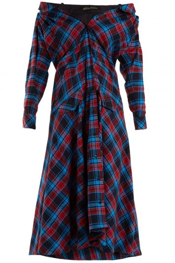 Click to buy Anna October plaid dress