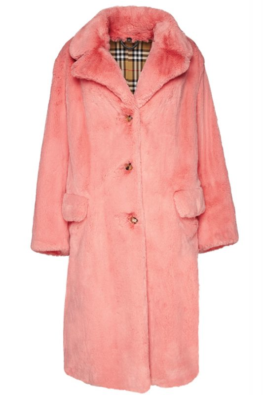 Click to buy Burberry Single-Breasted Coat online