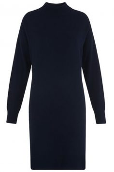Click to buy Cashmere Rib Back Dress online