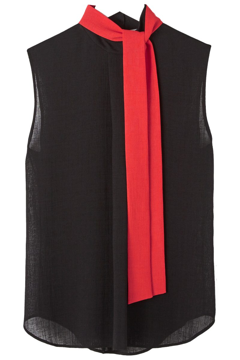 Click to buy Cefinn red and black top