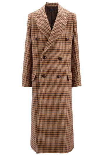 Click to buy Joseph checked coat