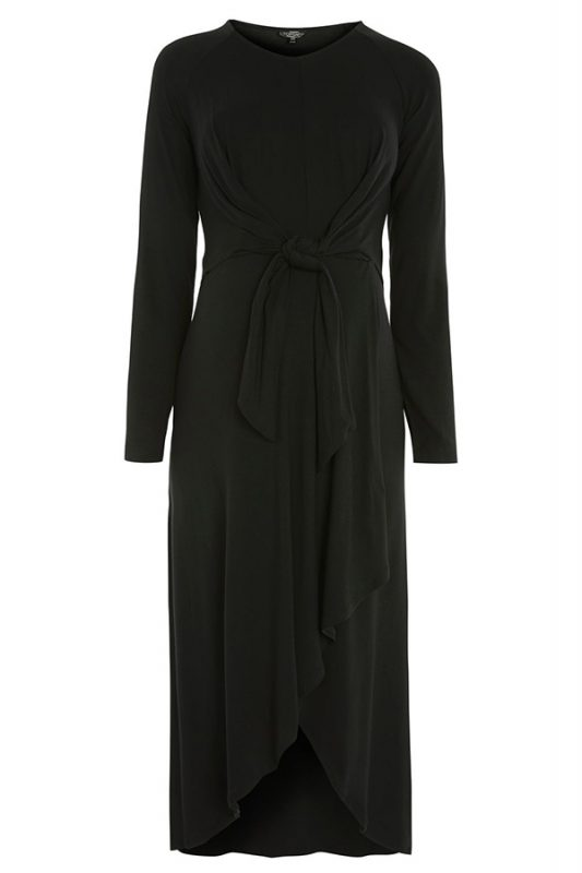 Click to buy Knot Front Midi Dress online