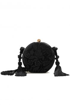 Click to buy Mango Embroidered details bag online