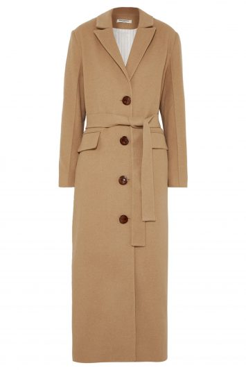 Click to Buy Matériel Belted Felt Coat