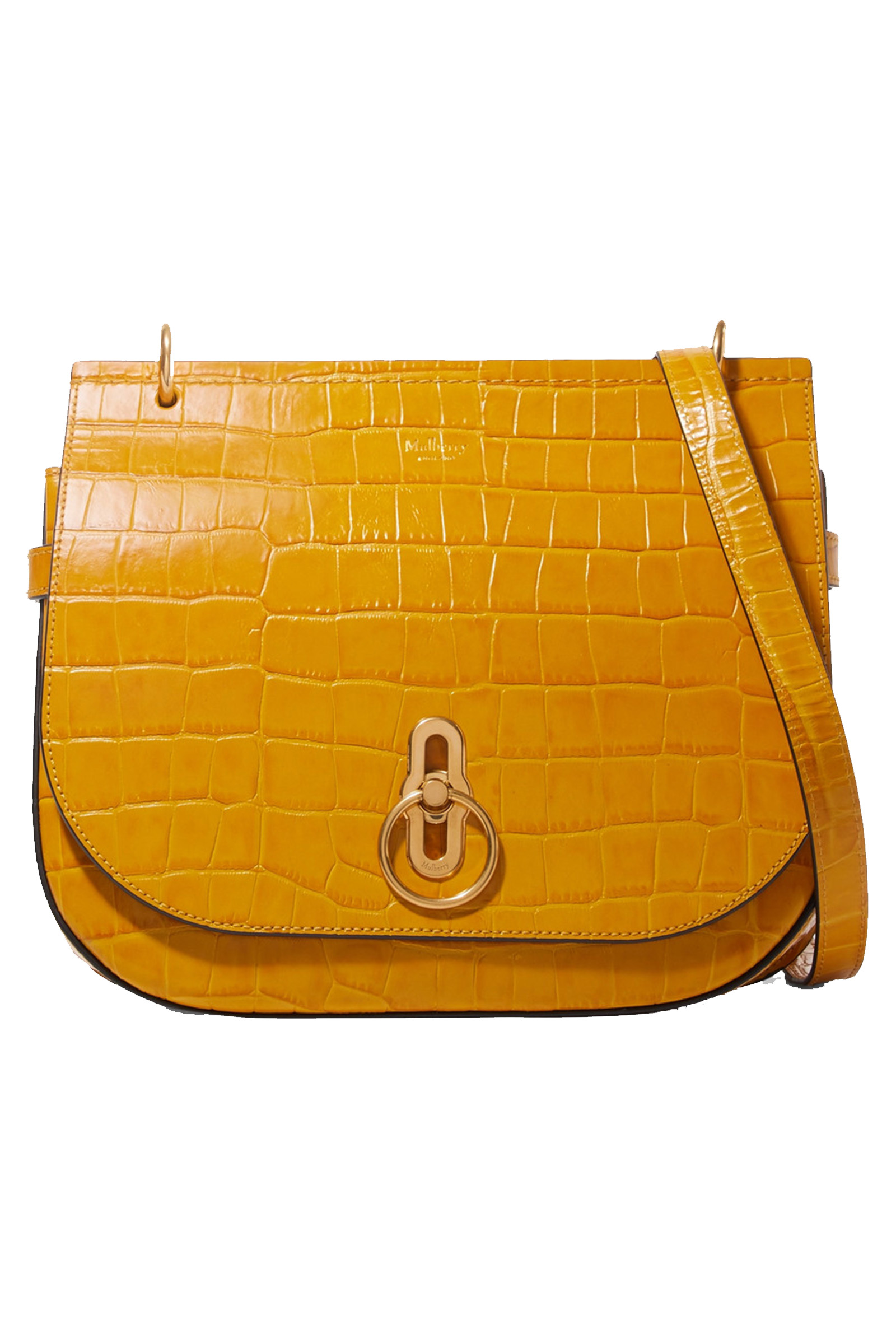 Click to buy Mulberry mustard bag