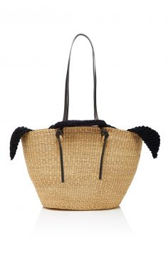Click to buy Muun Racco Straw Tote online