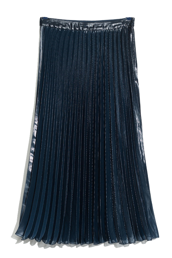 Click to buy Other Stories Pleated Midi Skirt online