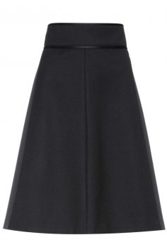 Click to buy REDValentino Twill skirt online