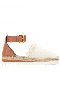 Click to buy See by Chloé Brown espadrilles online