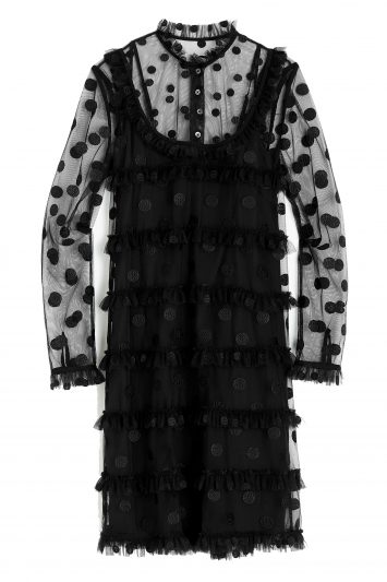 Click to buy Polka dot tulle dress online
