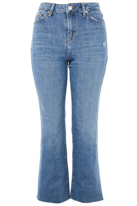 Click to buy Topshop MOTO Kick Flare Jeans online