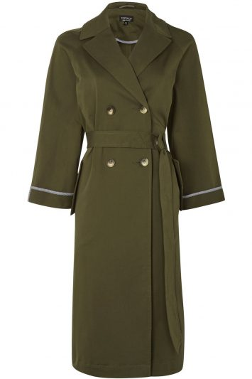 Click to buy Relaxed Tie Waist Trench online