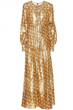 Click to buy Bea silk maxi dress online