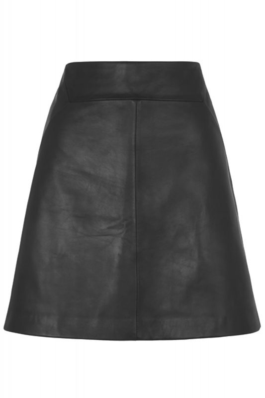 Click to buy Whistles leather skirt