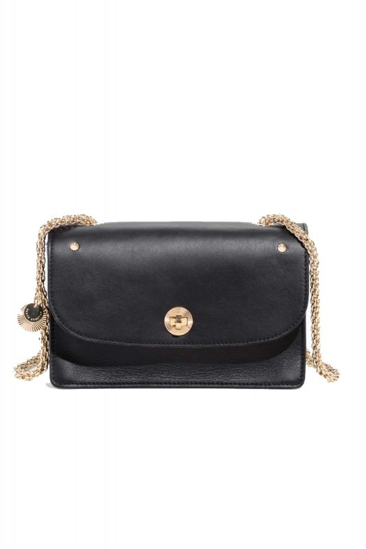 Click to Buy & Other Stories Chain Leather Bag