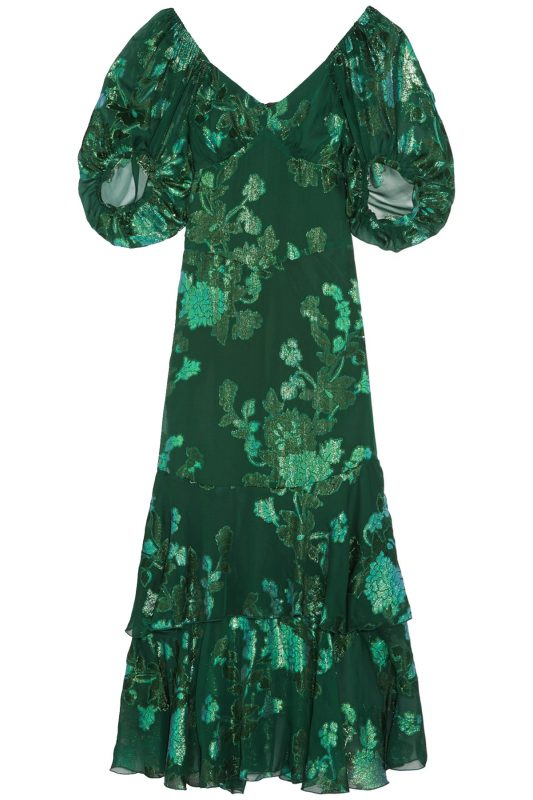 Click to buy Anna Sui green dress