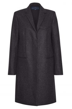 Click to Buy French Connection Platform Felt Wool Coat