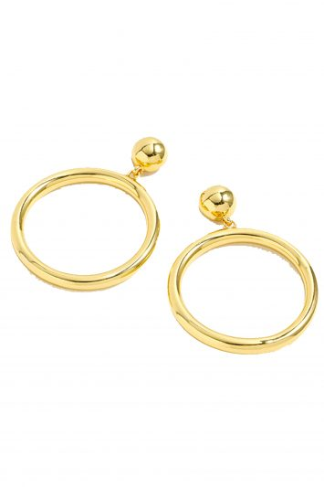 Click to buy J. Crew circle earrings