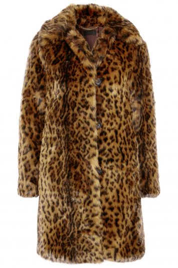 Click to buy J. Crew leopard print coat