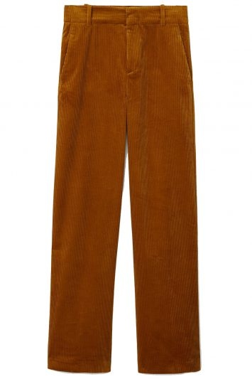 Click to buy Mango corduroy wide-leg trousers