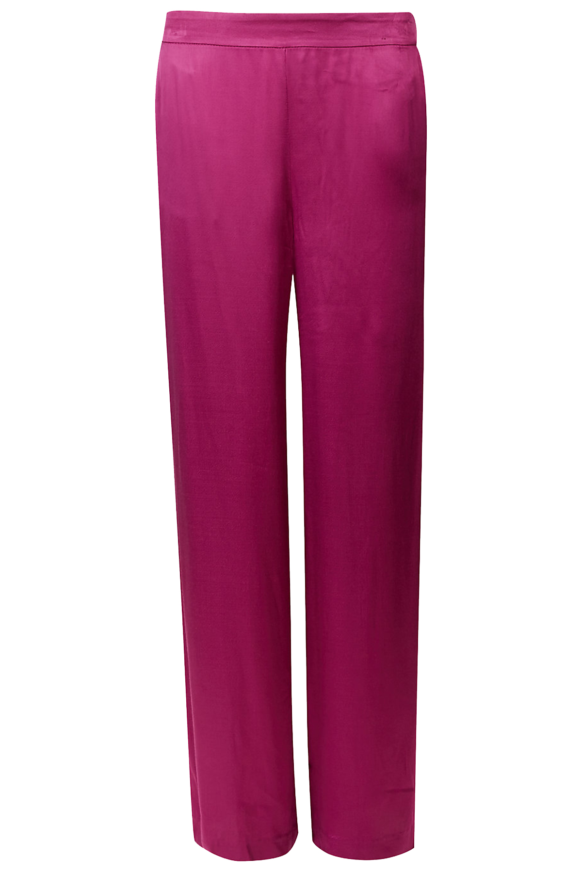 Click to buy Marks & Spencer pink wide-leg trousers