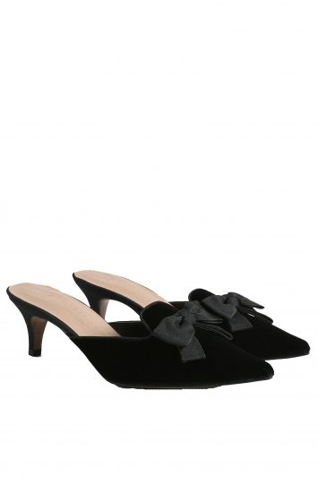 Click to buy Marks & Spencer velvet mules