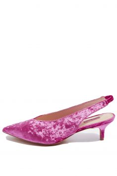 Click to Buy Topshop Jiggle Kitten Heel Slingbacks