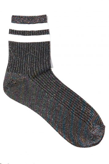 Click to buy Topshop lurex socks
