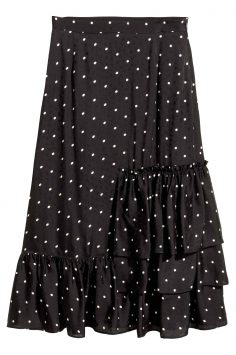 Click to Buy H&M Jacquard-Weave Skirt
