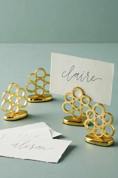 Click to Buy Anthropologie Placecard Holder Set
