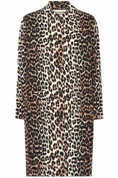 Click to Buy Ganni Leopard Print Coat