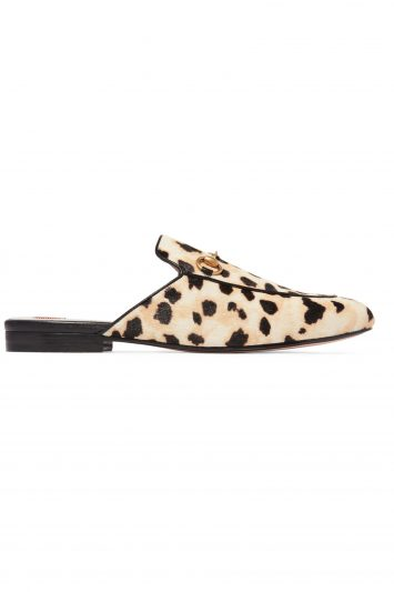 Click to Buy Gucci Leopard Print Slippers